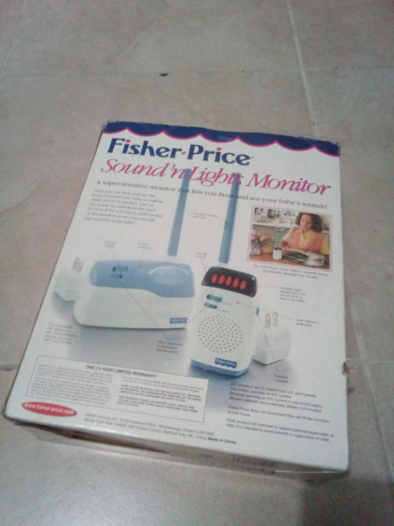 Comunicador de Bebe Fisher Price