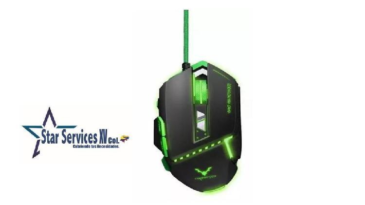 Mouse Gamer Wesdar GM2 Sensor Proaim Luces Led De Colores