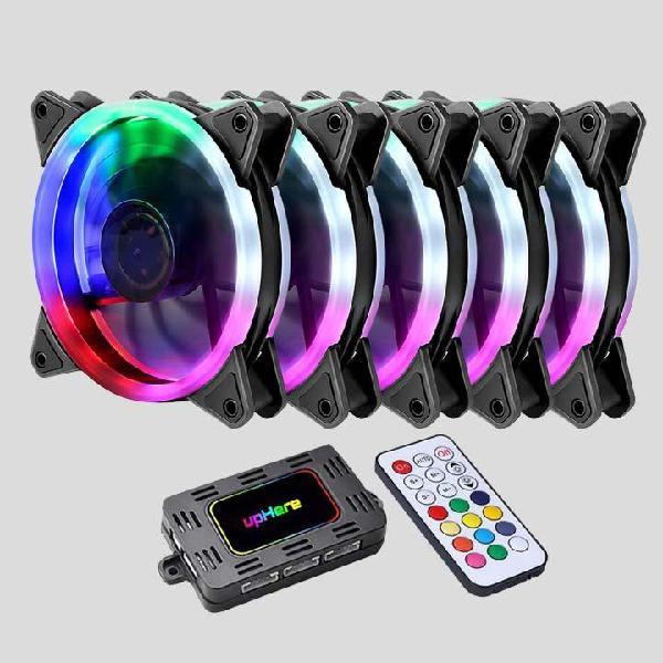 Ventiladores Fans UpHere Series RGB 1235 120mm x5