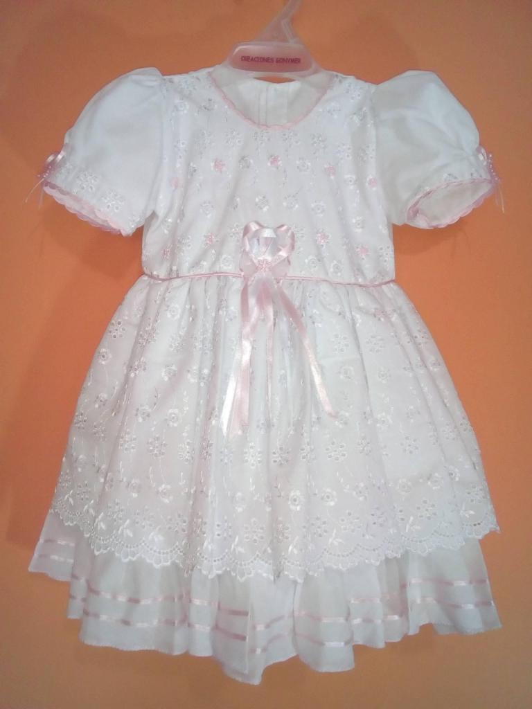 Vestido Peppa Usado Niña 1 Año Posot Class