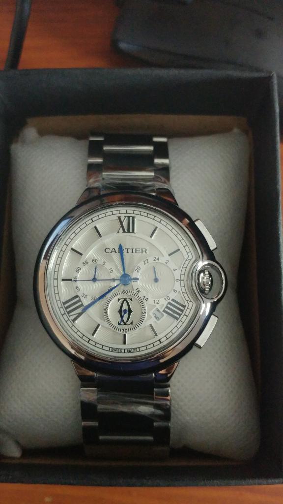 Reloj Cartier Hombre Crono, Diseño