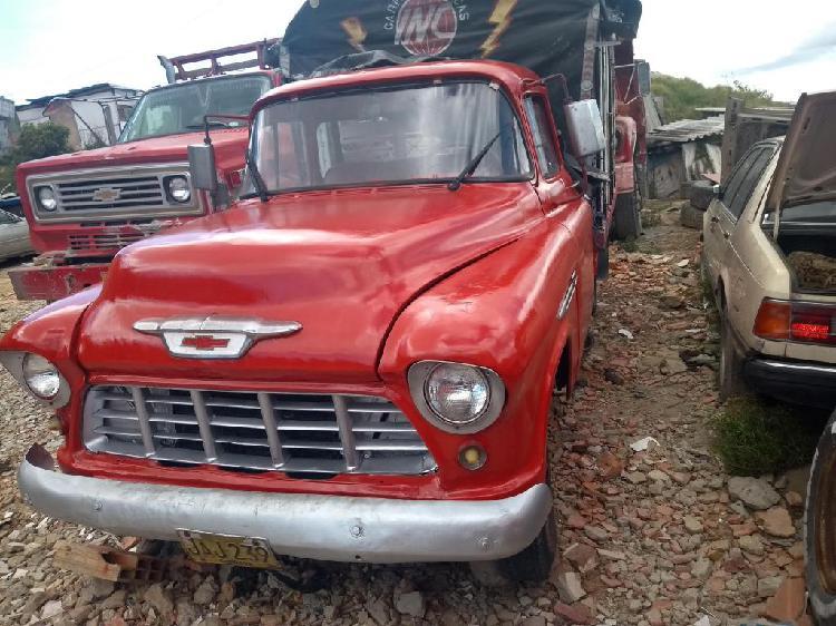vendo camioneta chevrolet apache 1955 original barata