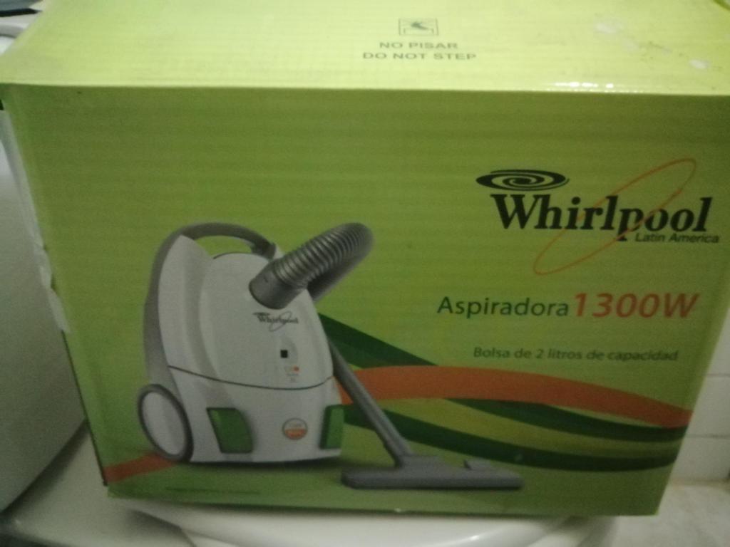 ASPIRADORA WHIRPOLL W TURBO GANGA!!!