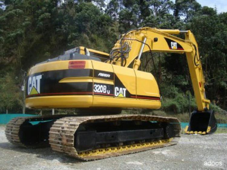 Excavadora Caterpilar 320bu