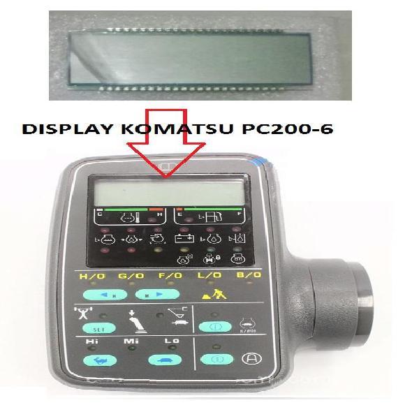 Reparación de monitores komatsu y caterpillar