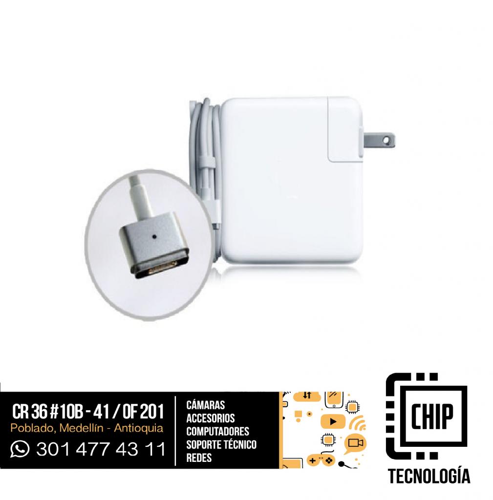Cargador para portatil Apple 16.5V 3.65A Magsafe 2 Nuevo