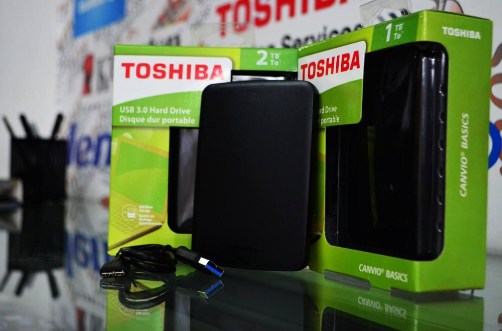 Disco Externo Toshiba Dd 1tb 2tb Usb 3.0 ! Envio Gratis !