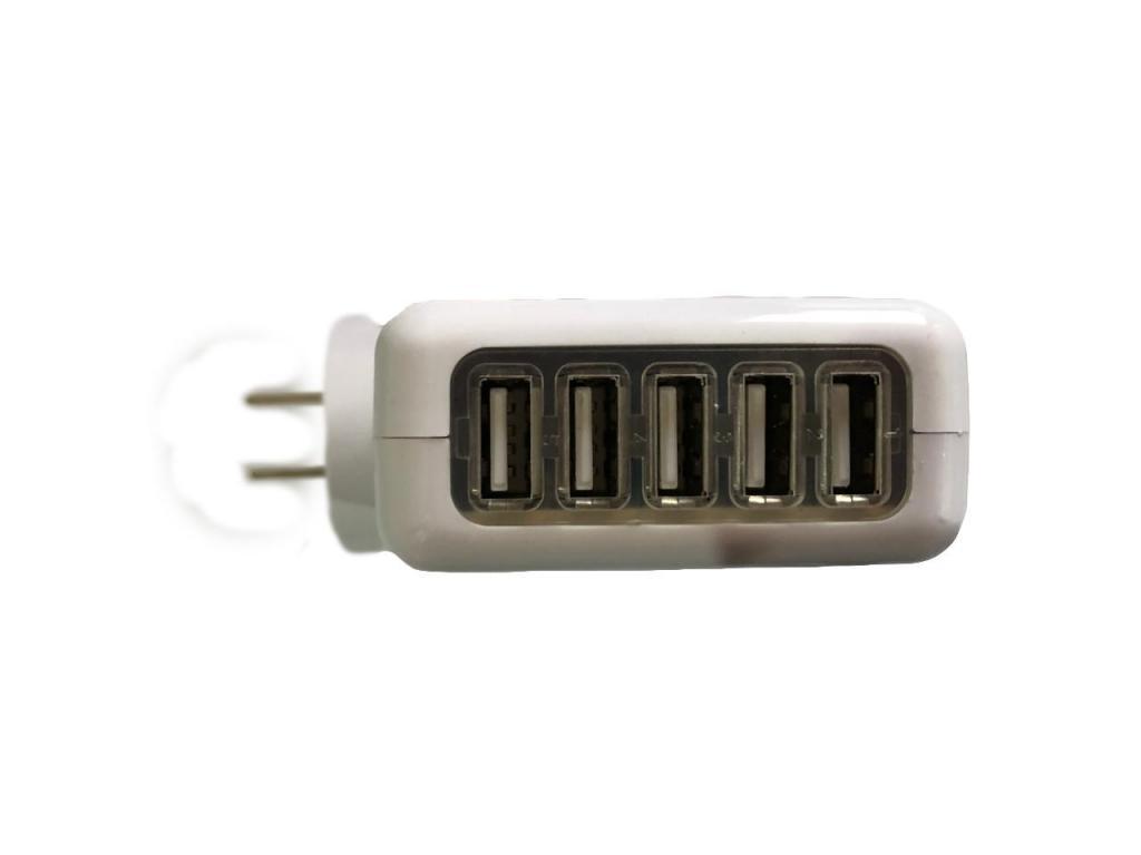 Hub 5 puertos USB de Corriente