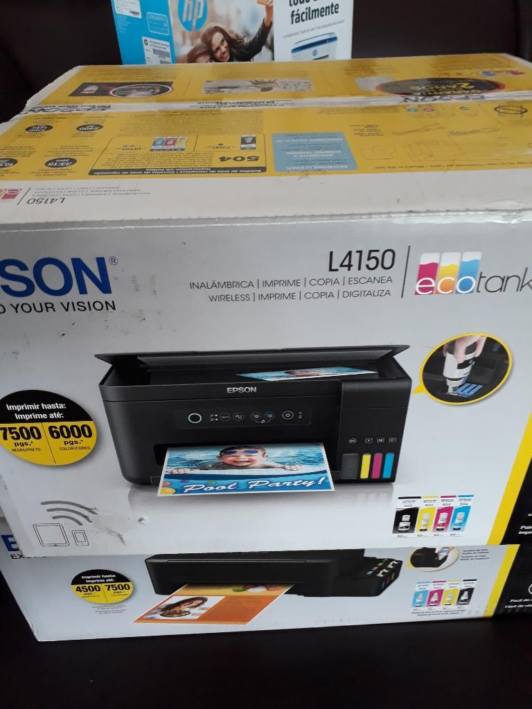 Impresora Epson L Multifuncional