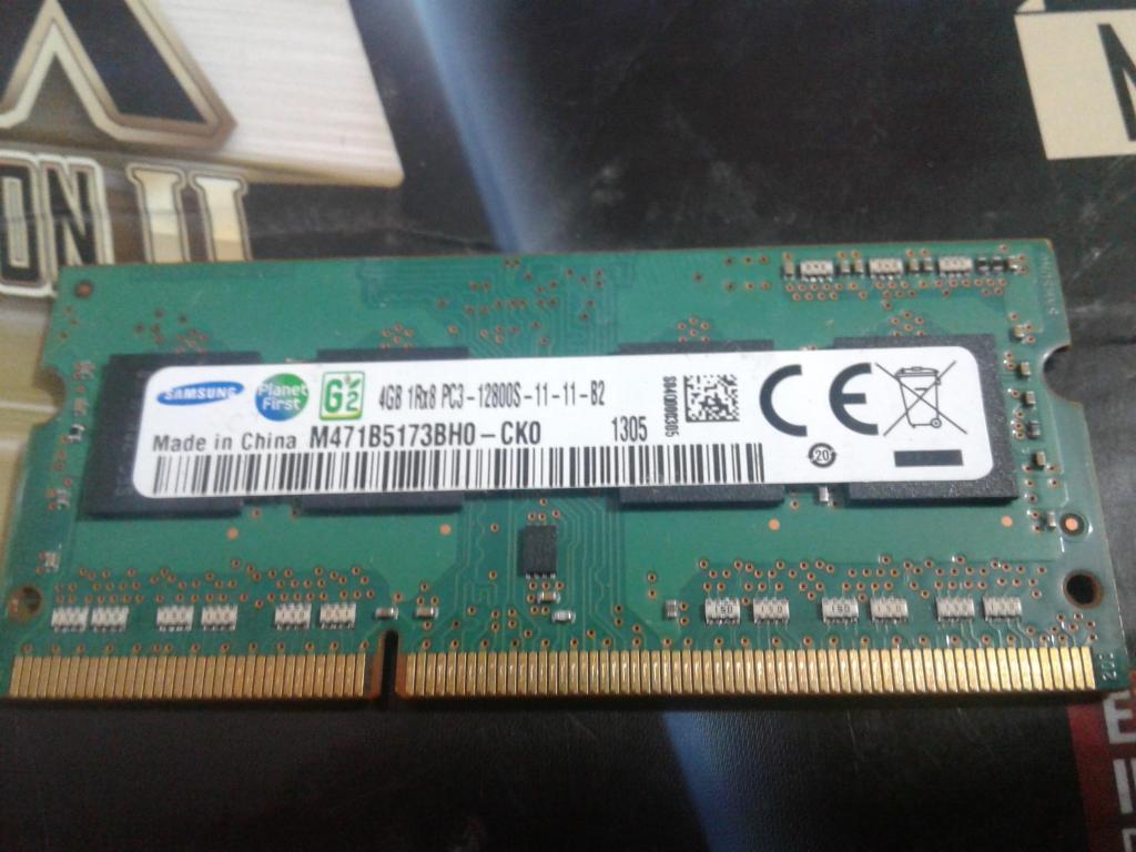 Memoria Ram 4 Gb Ddr3 Samsung Como Nueva