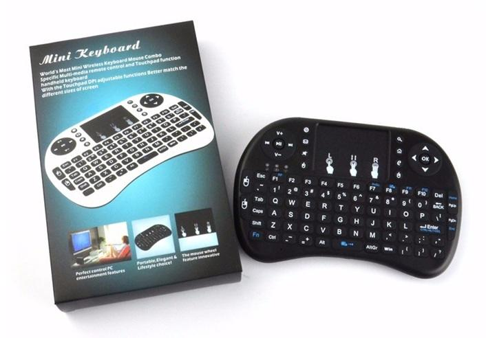 Teclado Para Televisor Inalambrico Mini Mouse Android Smart