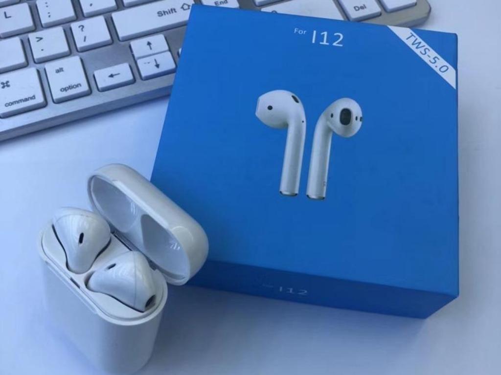 Audífonos Bluetooth I12 Tws Original Tac