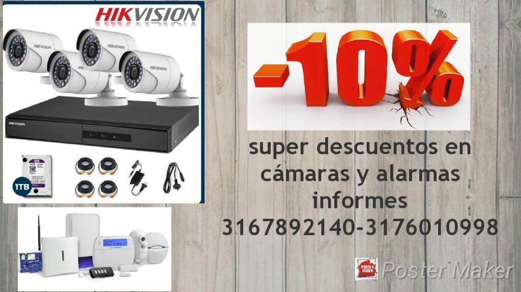Camaras Y Alarmas Hikvision