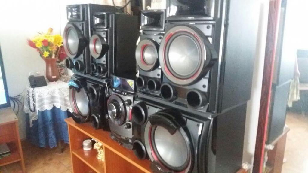 Equipo LG X Metal Bass hifi sistem cm