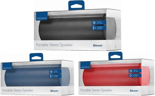 Insignia Parlante Speaker Portatil Bluetooth Inalambrico