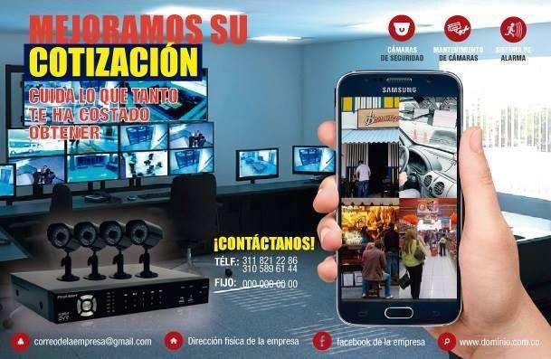 KIT DE 4 CÁMARAS DE SEGURIDAD 720 TURBO HD HIKVISION