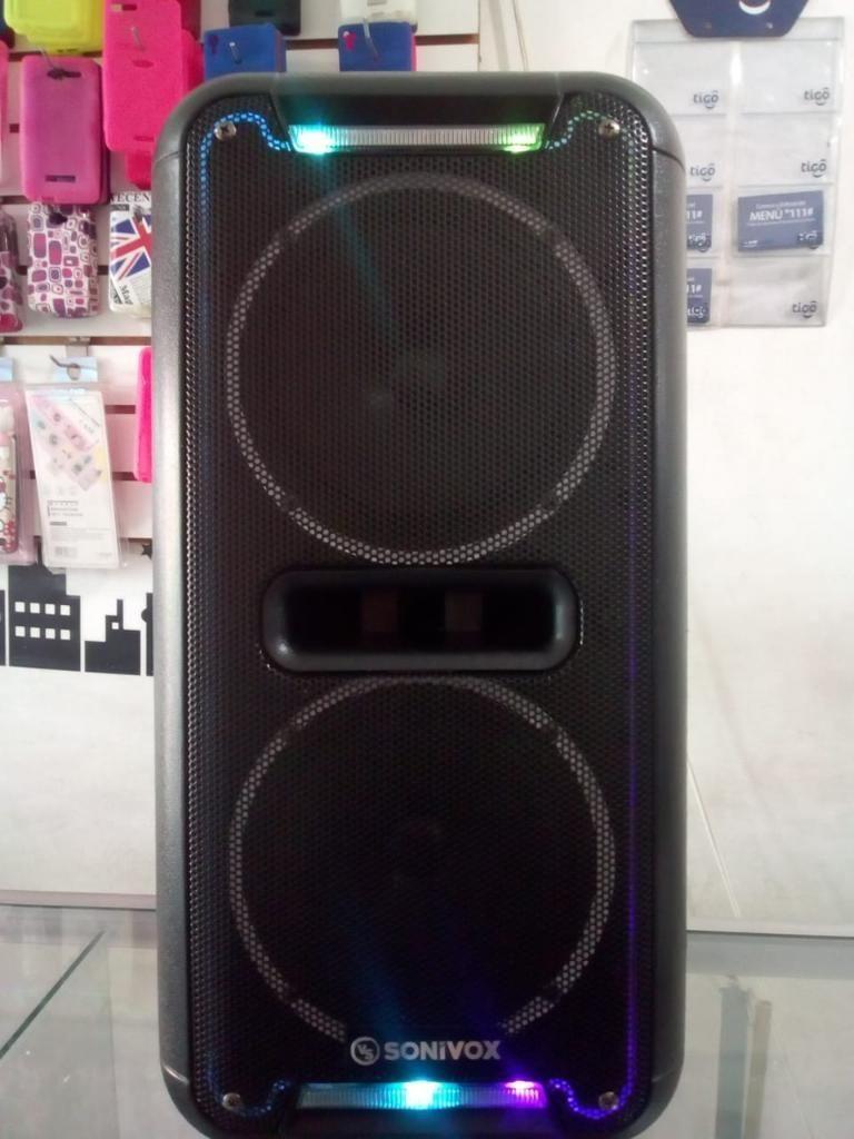 Parlante 12 Bluetooth Fm Usb Micrófono