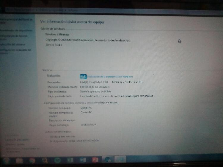 Portátil Dell Inspiron N4030