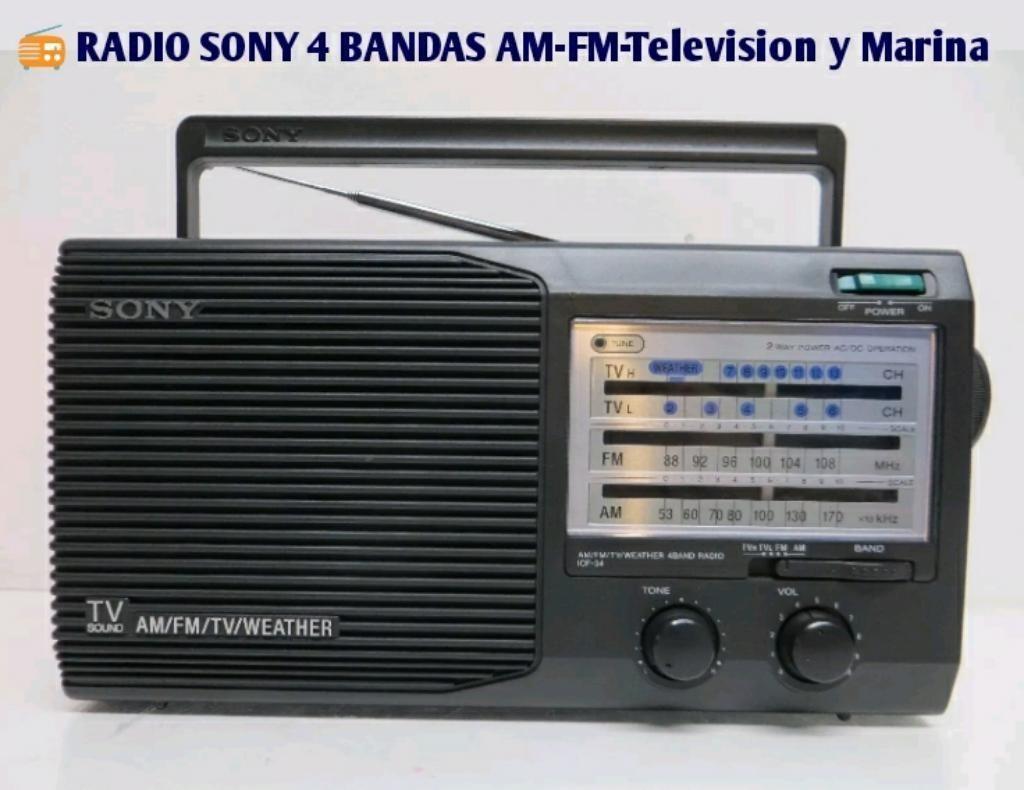 Radio Sony 4 Ba Television,marina,am,fm