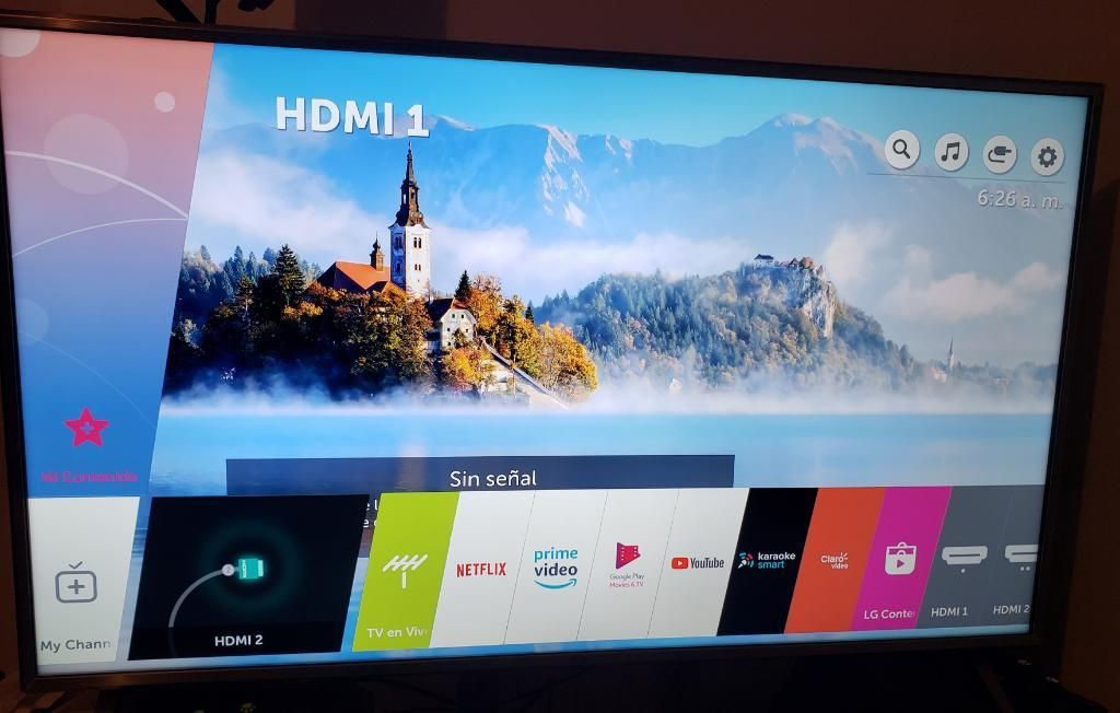 Televisor Lg de 50 Pulgadas 4k Smart Tv