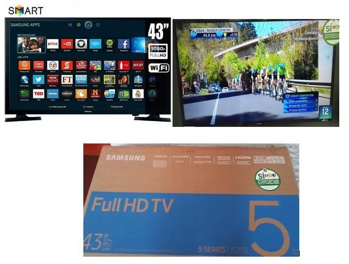 Televisor Nuevo Full HD 43 Pulgadas smartv NUEVO TDT