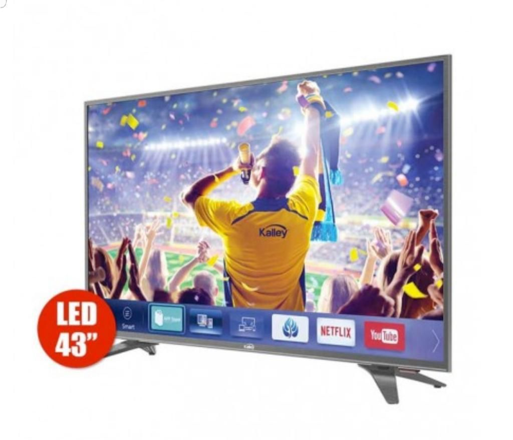 Televisor de 43 Pulgadas Kalley Smart 4k