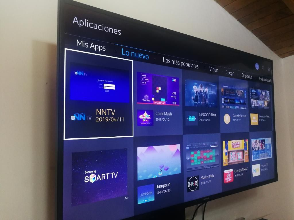 Vendo Tv Smart Hud 4k de 50 Pulgadas