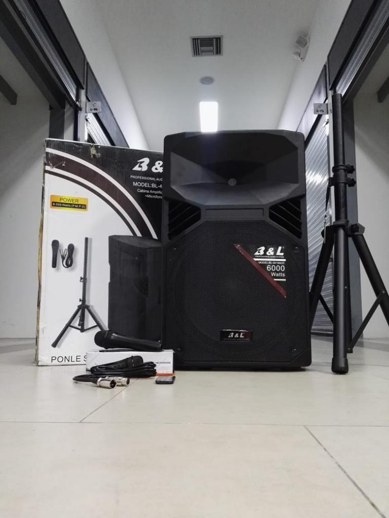 Cabina de Sonido Profesional Bl