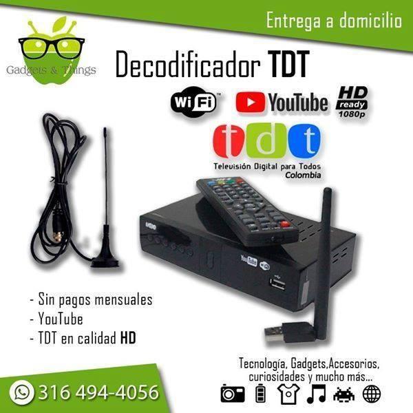 Decodificador TDT con YouTube