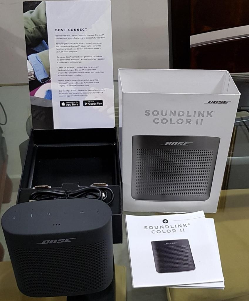 Parlante Bose Soundlink Color 2 Negro