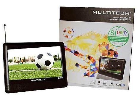 Televisor Portatil Multitech Recargable Tdt 7 NUEVO
