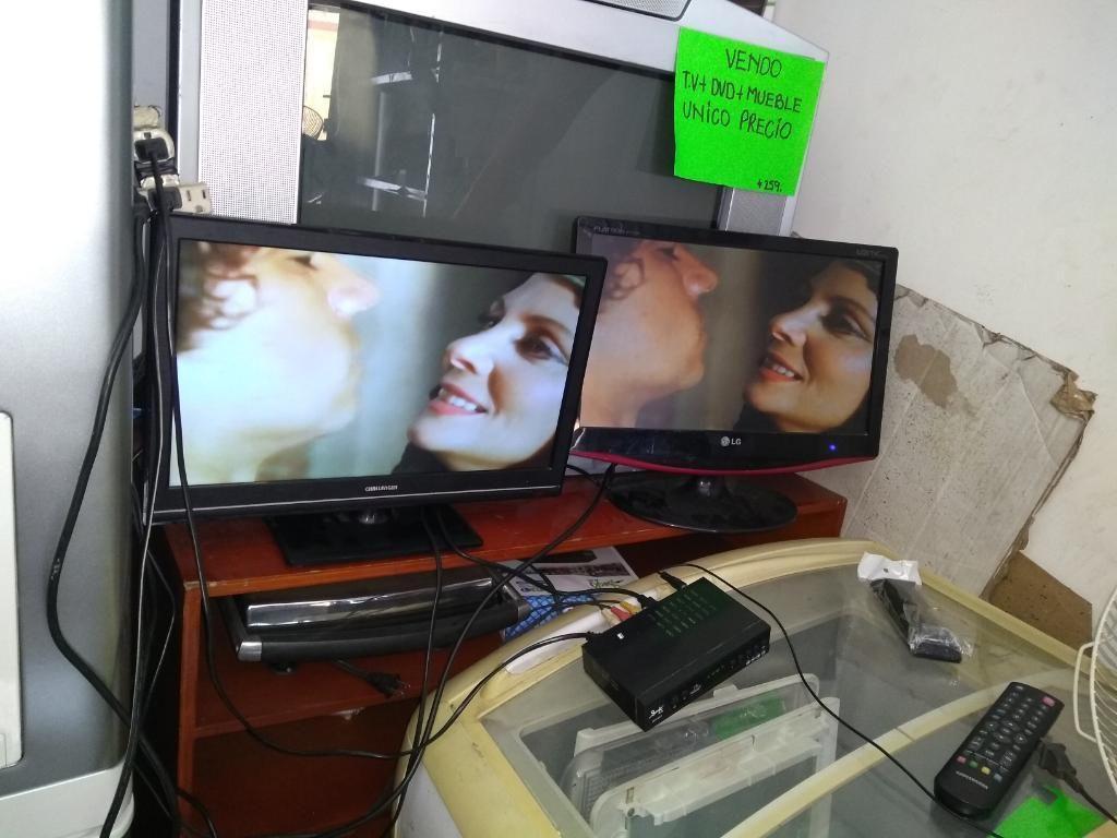 Vendo Dos Televisores Led Y Lcd 19 Pulga