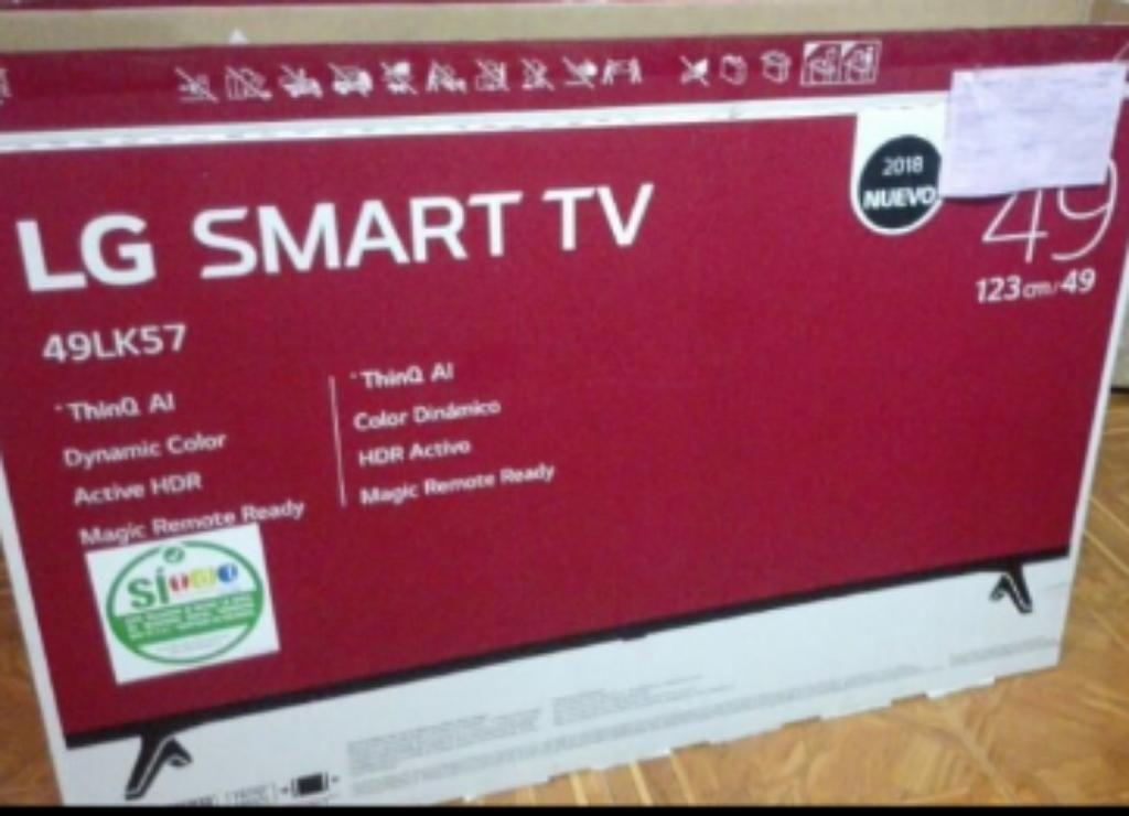 Vendo O Permuto Smart Tv de 49 Pulgadas