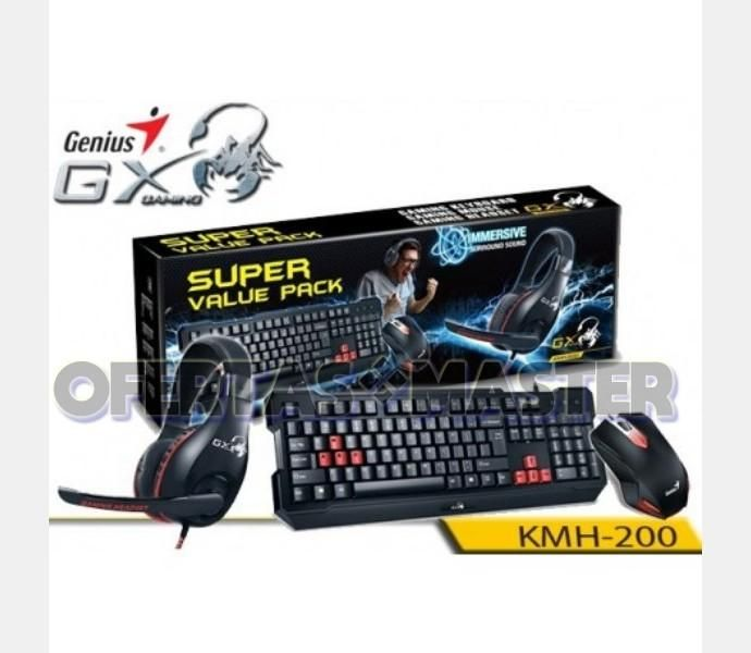 COMBO Gamer Genius GX – GAMING KMH200