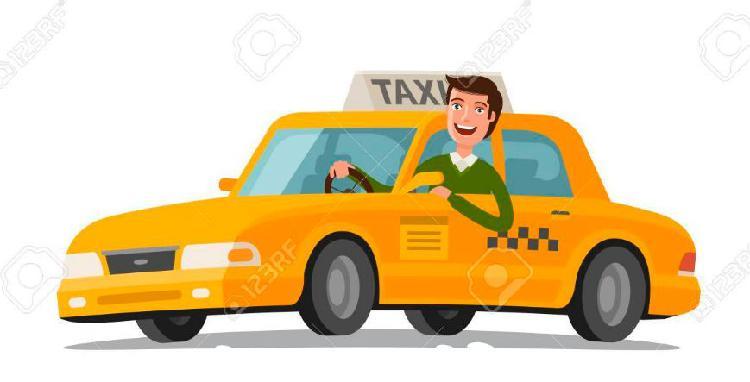Requiero conductor de Taxi