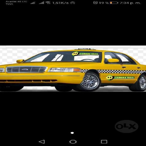 Se Necesta Conductor Taxi