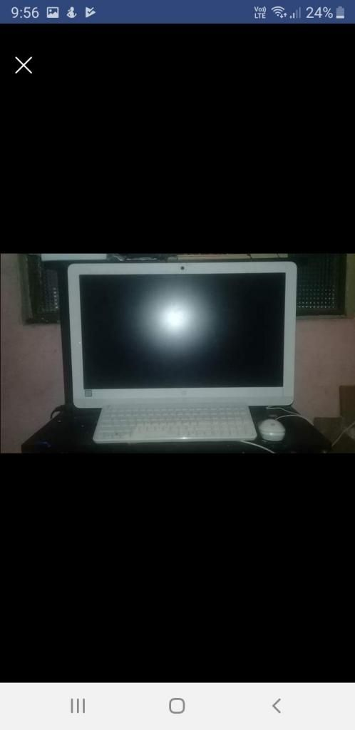Vendo computador HP todo en uno