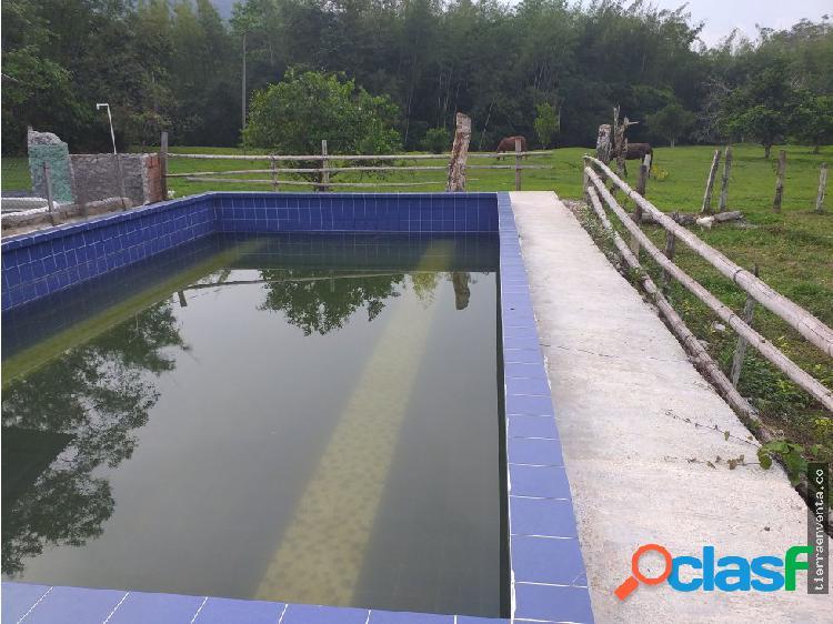 Vendo terreno con piscina y kiosko en el Prodigio
