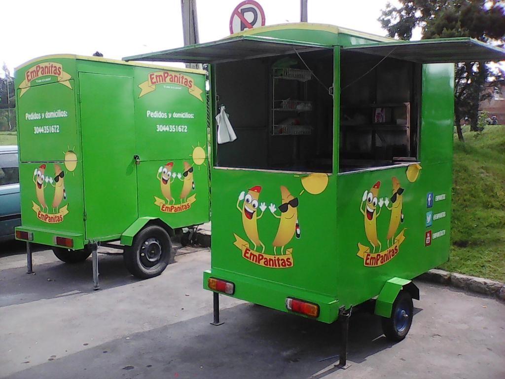 Vendo trailer para comidas rápidas foodtruck