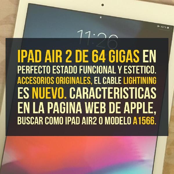 iPad Air 2 de 64 Gb