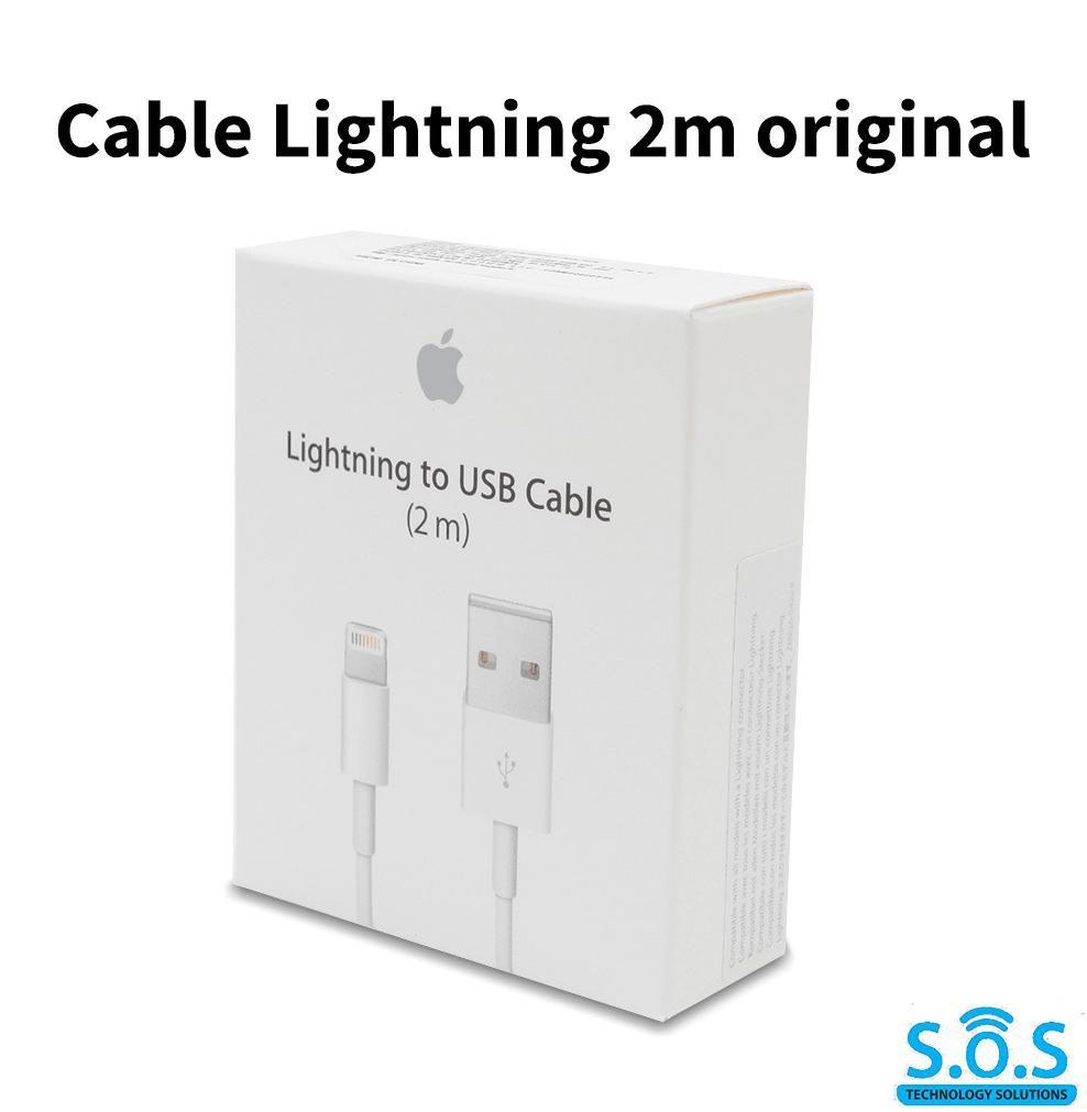 CABLE APPLE LIGHTNING TO USB 2M ORIGINAL