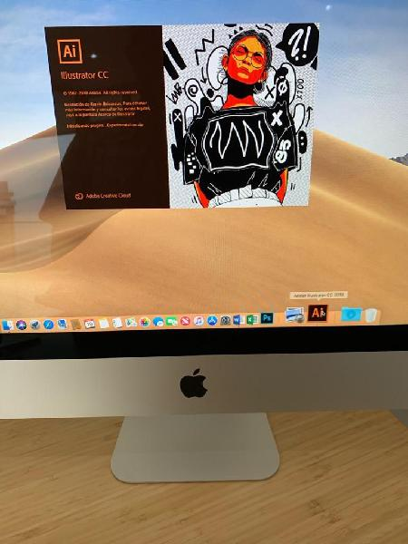 iMac 21.5 LATE 2015 CORE i5 512GB SSD 8GB 1867MHZ 1.5GB