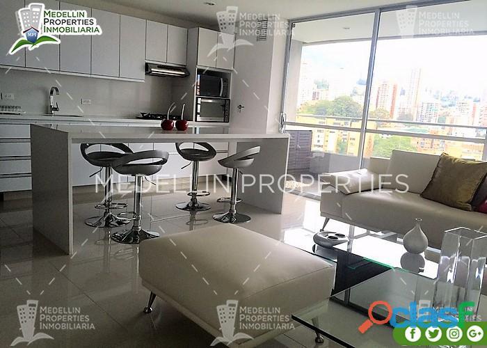 Apartamentos Amoblados Baratos en Medellín Cód.: 4936