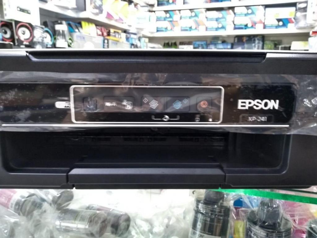 Impresora Epson xp 241 con sistema de tinta adaptada
