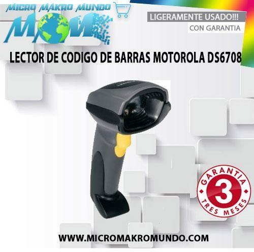 Lector De Código De Barras Motorola Ds
