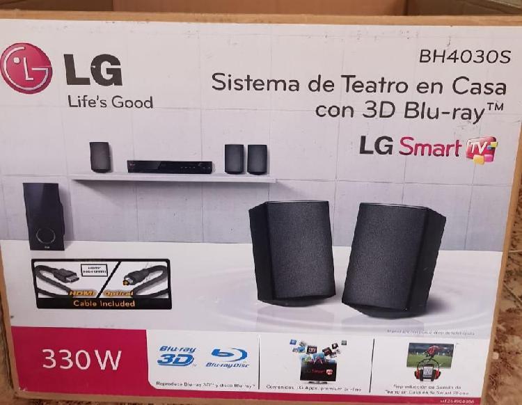Teatro en casa LG BH4030S con 3D Blu-Ray LG Smart