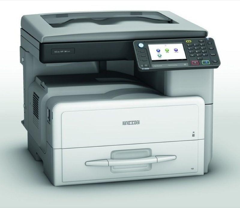 rematando fotocopiadora ricoh mp 301 de la serie 3
