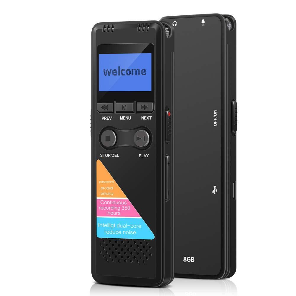 7HN Grabador Microfono Voz Audio Digital Profesional Player