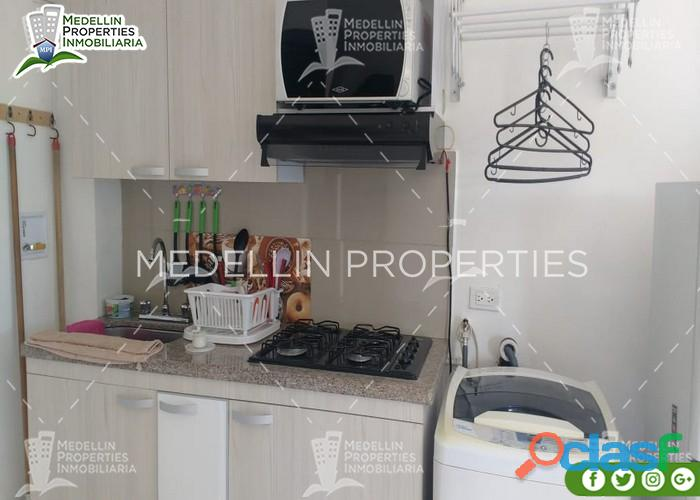 Apartamentos Amoblados Baratos en Medellín Cód.: 4918