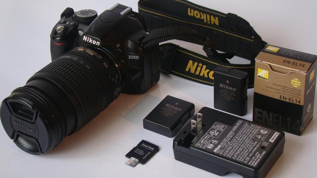 Camara Nikon D Lente  VR Cinematográfico